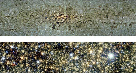Aufnahme der Milchstraße, (c) ESO