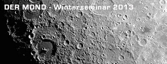 Der Mond - Winterseminar 2013