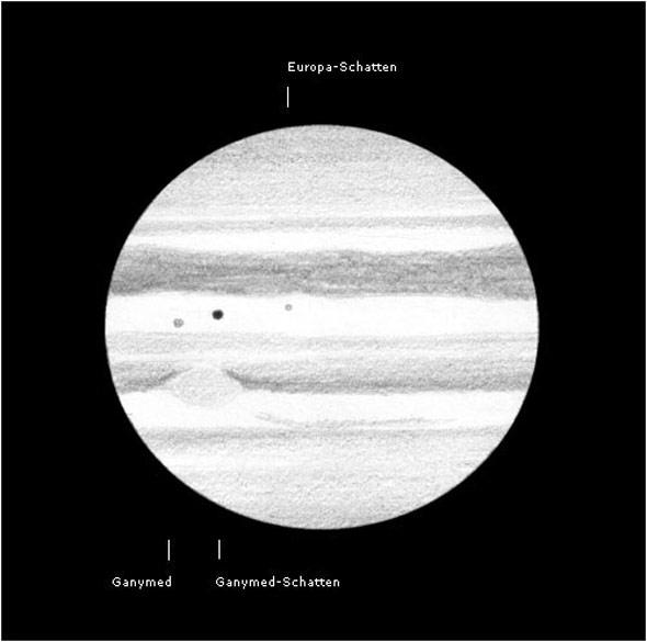Schattenspiele auf Jupiter, (c) Lambert Spix