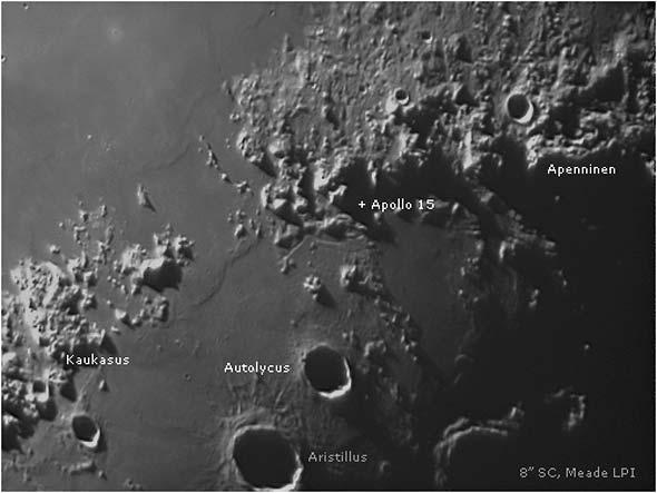 Landeplatz von Apollo 15, (c) Lambert Spix