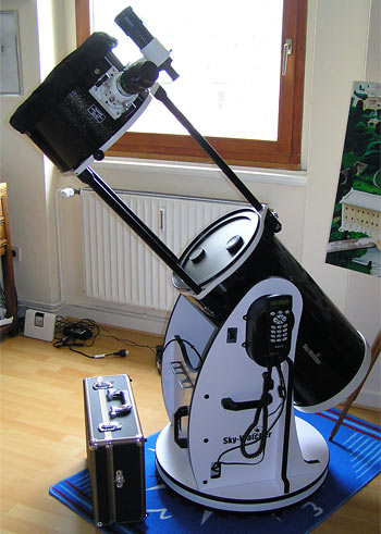 Skywatcher 12 Zoll (=300mm Öffnung) Dobson Spiegelteleskop, (C) Preuß