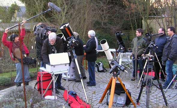 Der WDR zu Besuch bei den Sternfreunden Siebengebirge