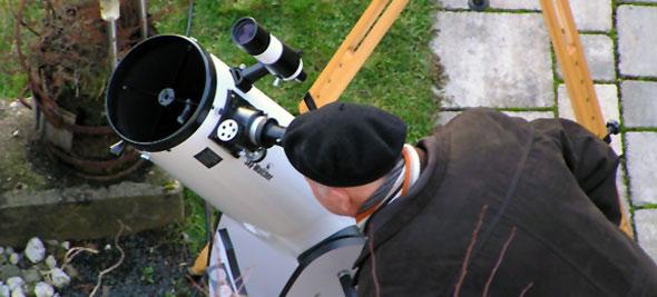 Im Bann des neuen Dobson-Teleskops, (c) Preuß