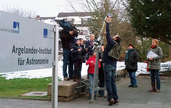 Kinderreporter der WDR Lokalzeit aus Bonn