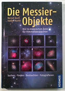 Buchcover 'Die Messier Objekte' fotografiert von Daniel Bockshecker