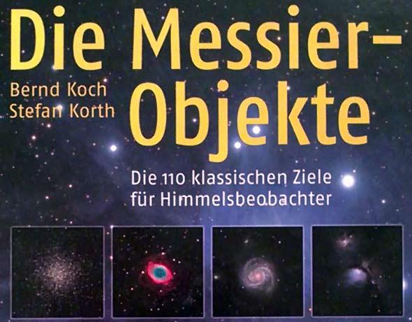 (c) Buchcover von 'Die Messier-Objekte', Foto: Daniel Bockshecker