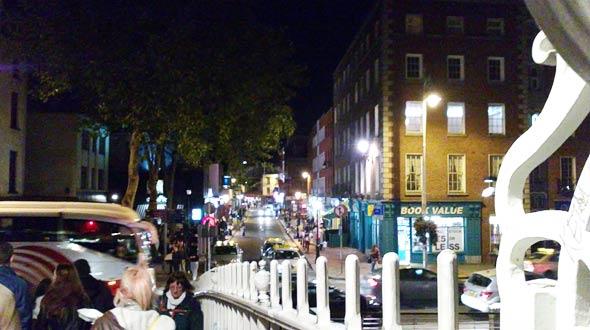 Dublin - muss es nachts taghell sein? (C) Daniel Bockshecker