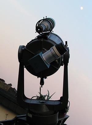 Teleskop Phoenix und der Blick zum Mond