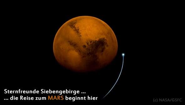 MAVEN, (c) NASA/GSFC
