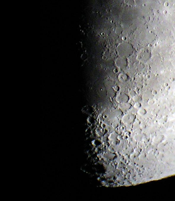 Mond am 18.05.2013, Ausschnitt, (c) C. Preuß