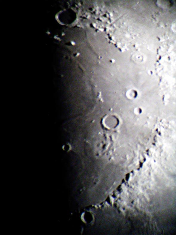 Mond am 18.05.2013, Bildausschnitt Teil 1, (c) C. Preuß