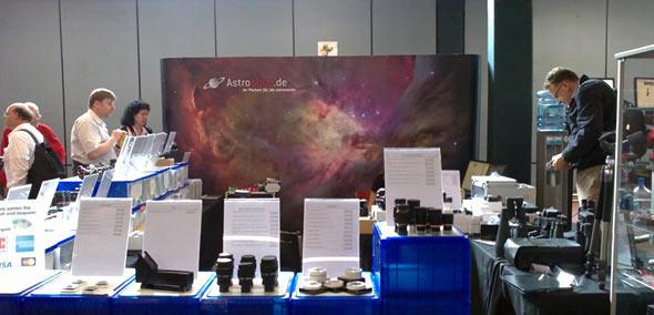 Astroshop auf der ATT 2013, (c) Daniel Bockshecker