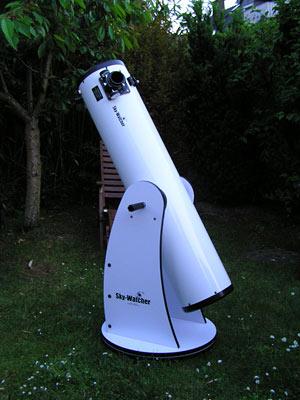 """Mein 8"""" Dobson Teleskop, (c) C. Preuß"""