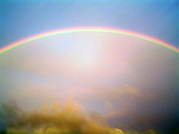 Regenbogen über Bad Honnef, 13.06.2013, (c) C. Preuß