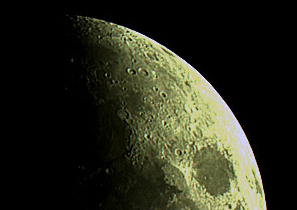Der Mond, (c) Daniel Bockshecker