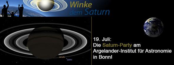Winke dem Saturn