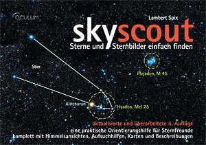 skyscout, Buchcover, (c) Oculum Verlag, Lampert Spix