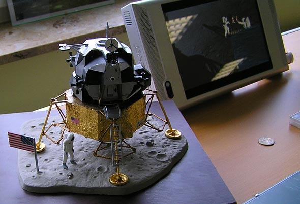 Mondlandefähre der Apollo-Missionen