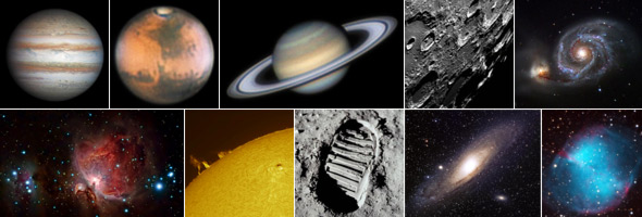 Weltraummosaik, Quelle C. Preuß / NASA / Hubble