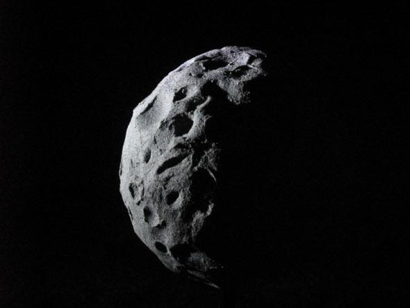 Das Modell eines Asteroiden, (c) D. Bockshecker