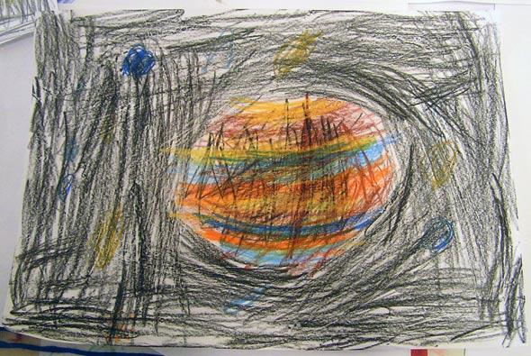 Jupiter, (c) Schüler der OGS Am Reichenberg