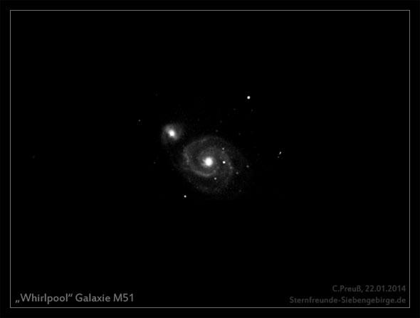 Die Galaxie M51, (c) C. Preuß