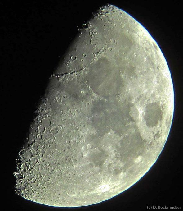 Mond, (c) D. Bockshecker