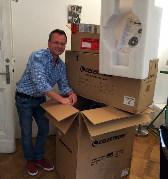 Die Verpackung des CPC 1100, (c) Thomas Haas