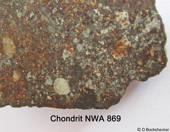 Die Chondren (Silikatkügelchen), aus denen sich die Planeten formten, (c) D. Bockshecker