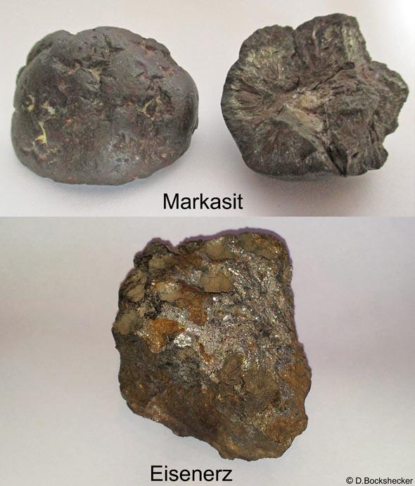 Werden gerne als Meteoriten angeboten, sind jedoch irdischer Herkunft, (c) D. Bockshecker