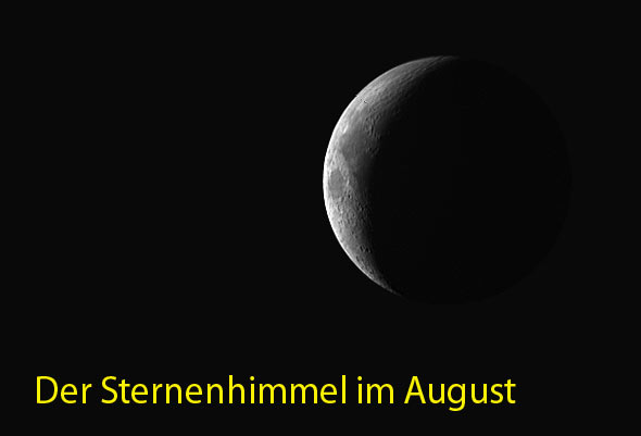 Sternenhimmel im August 2014