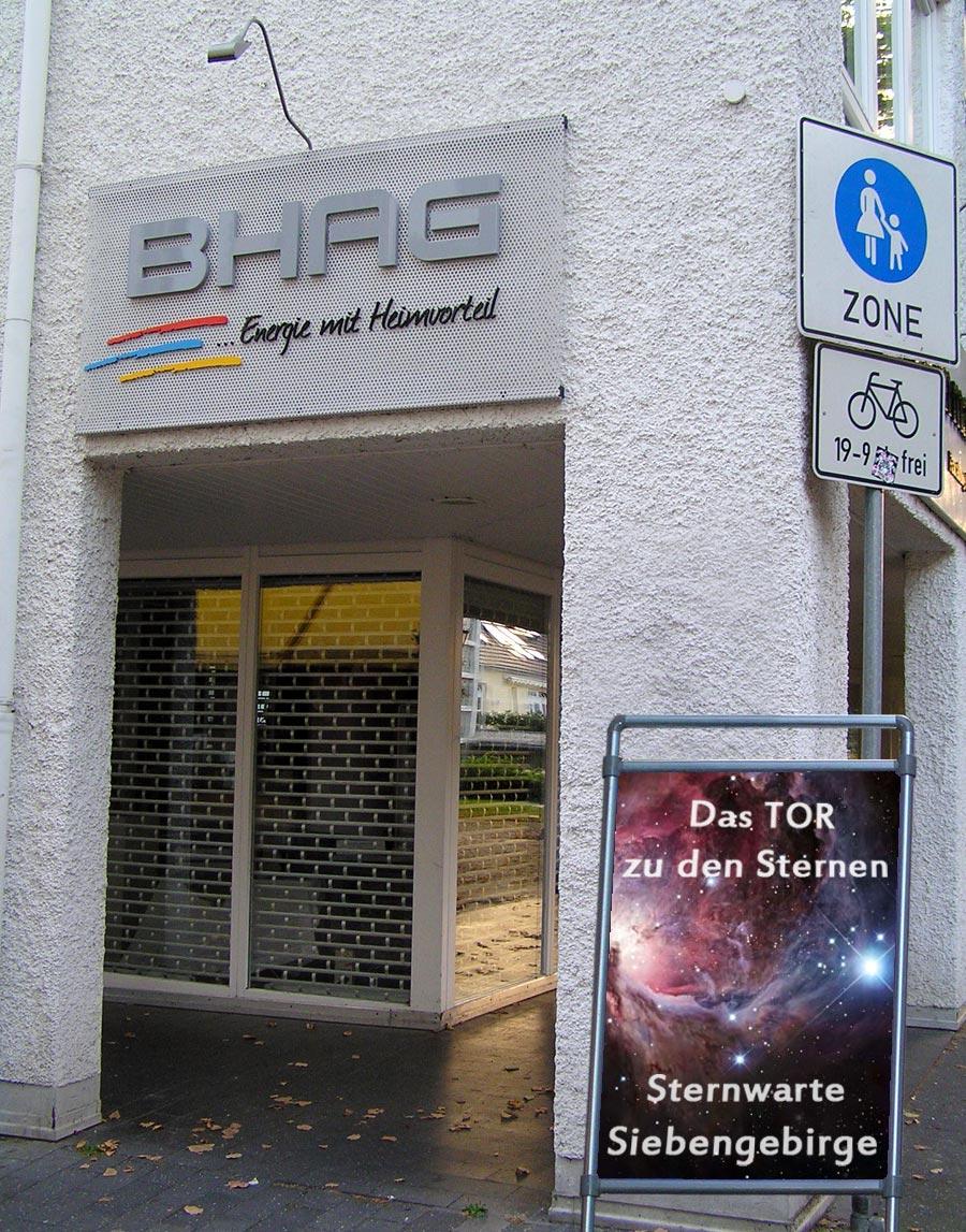 Plakat Sternwarte Siebengebirge