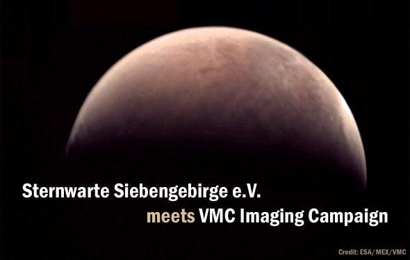 Sternwarte Siebengebirge meets VMC Imaging Campaign